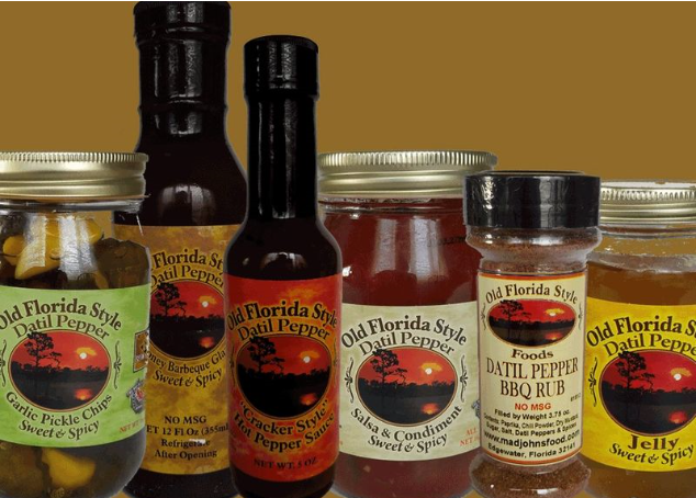 Old Florida Style Datil Pepper Products