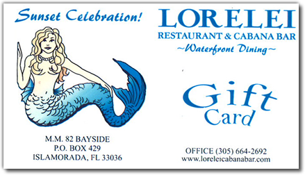 Lorelei Gift Certificates