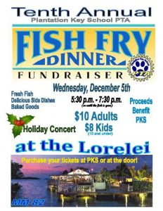 PKS Fundraiser Fish Fry and Children's Christmas Concert