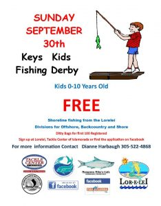 Keys Kid's Fishing Derby