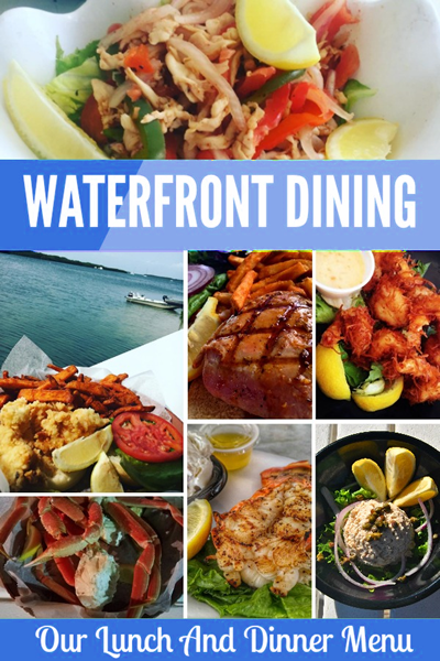 Enjoy Waterfront Dining At The Lorelei Restaurant and Cabana Bar. Click Here For Lunch and Dinner Menu