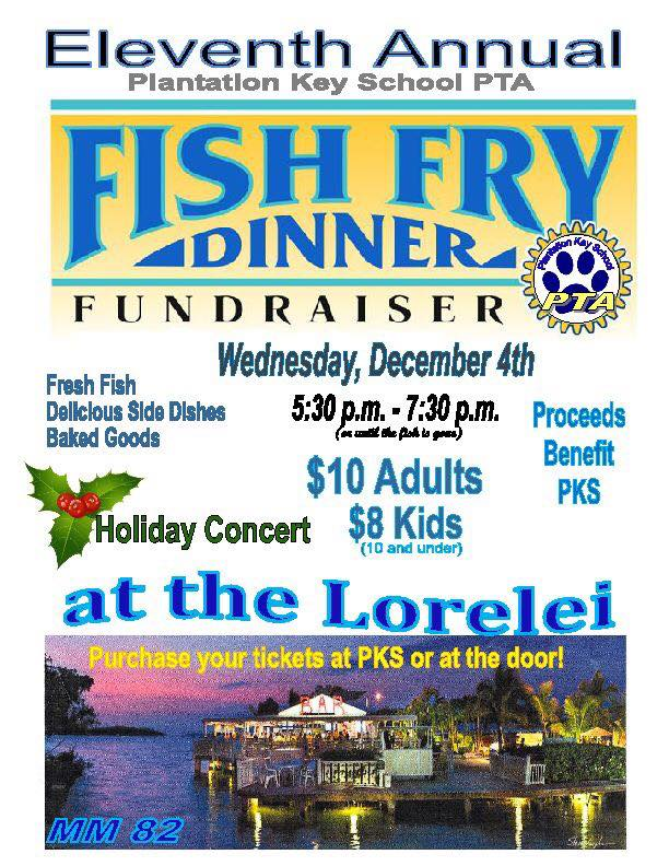 Join Us For A Fish Fry Dinner To Benefit PKS